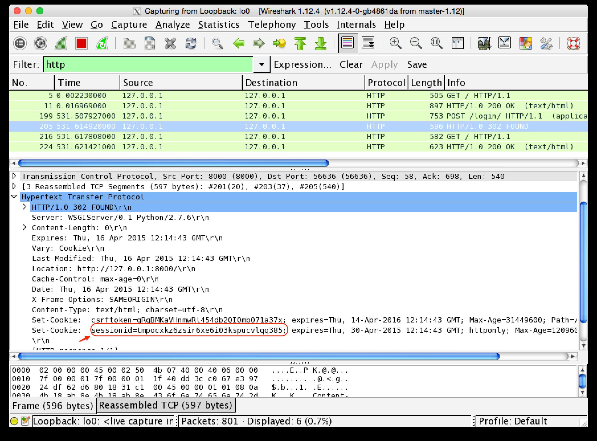 wireshark how to get passwords