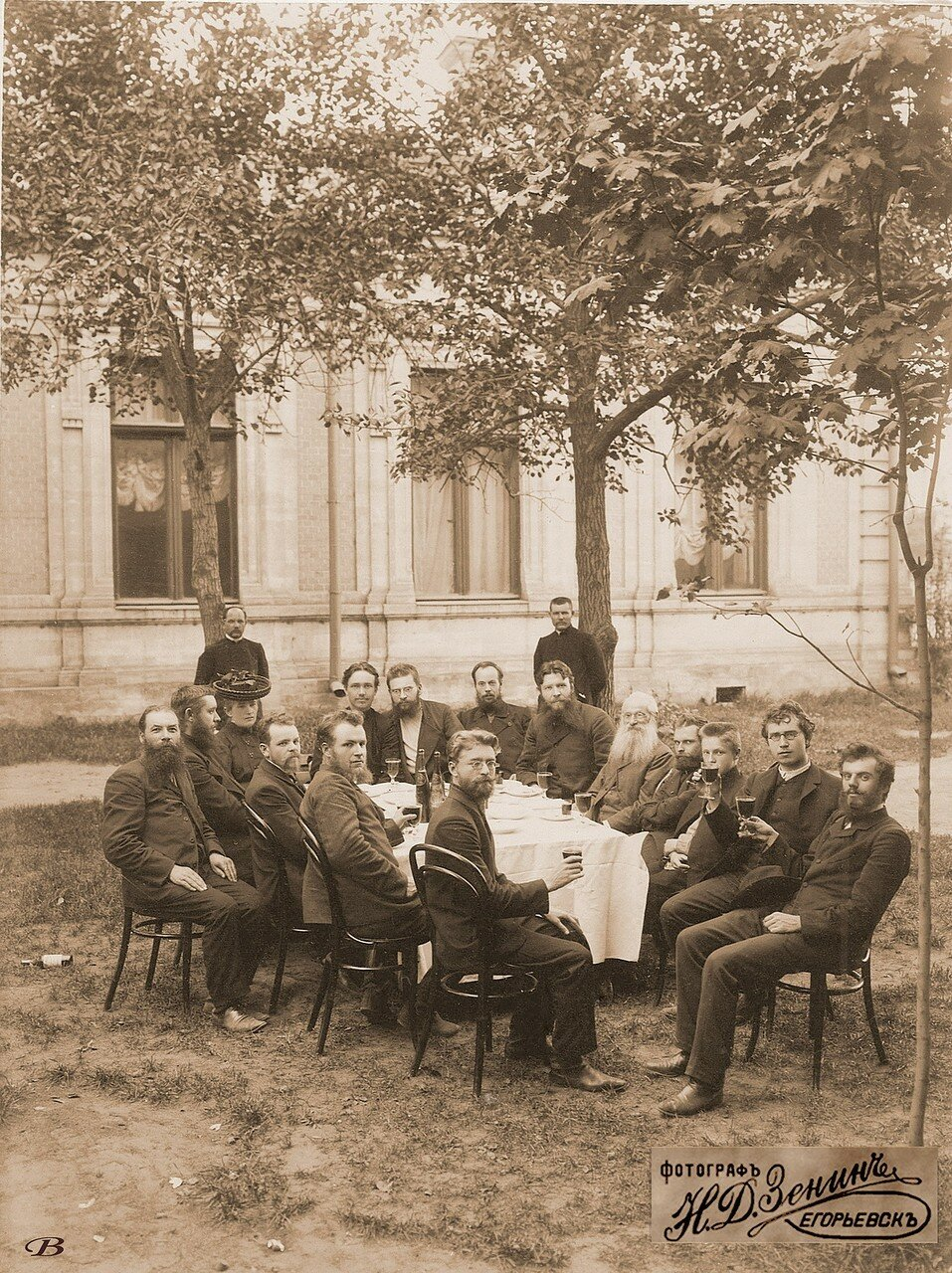 Торжество по случаю освобождения из Рязанской тюрьмы Н.Д. Зенина