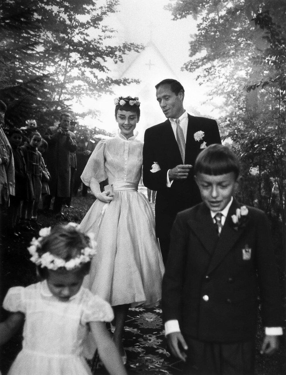 1954. Одри Хепберн и Мел Феррер