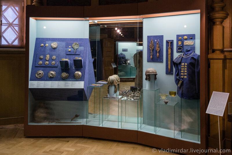 Выставка Золото потомков Геракла, Народы Прикубанья в VI в. до н.э. – III в. н.э. Витрина №3.