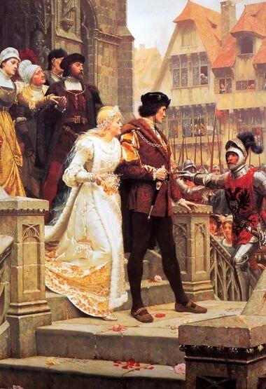Свадьба в средневековье