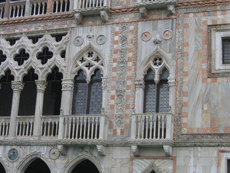 Фасад палаццо Ка-д'Оро