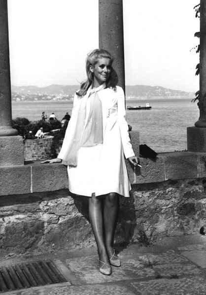 Catherine Deneuve au Festival de Cannes 1965