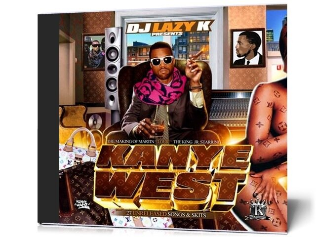 DJ Lazy K Presents Kanye West - The Making Of Martin Louis The King Jr (2009)
