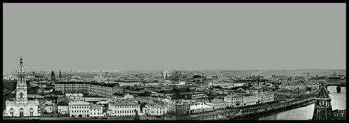 Панорама из Кремля. Вид на юго-запад и запад
