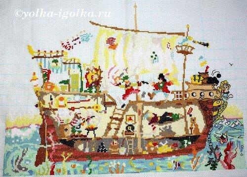 Пиратский корабль 11.04.09
