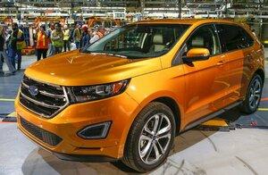 Ford объявил о старте производства Ford Edge