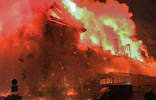 В Москве произошёл крупнейший за последние 25 лет пожар