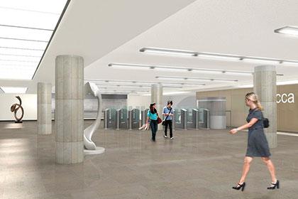 Москвичам предложено выбрать дизайн станции метро «Третьяковская»