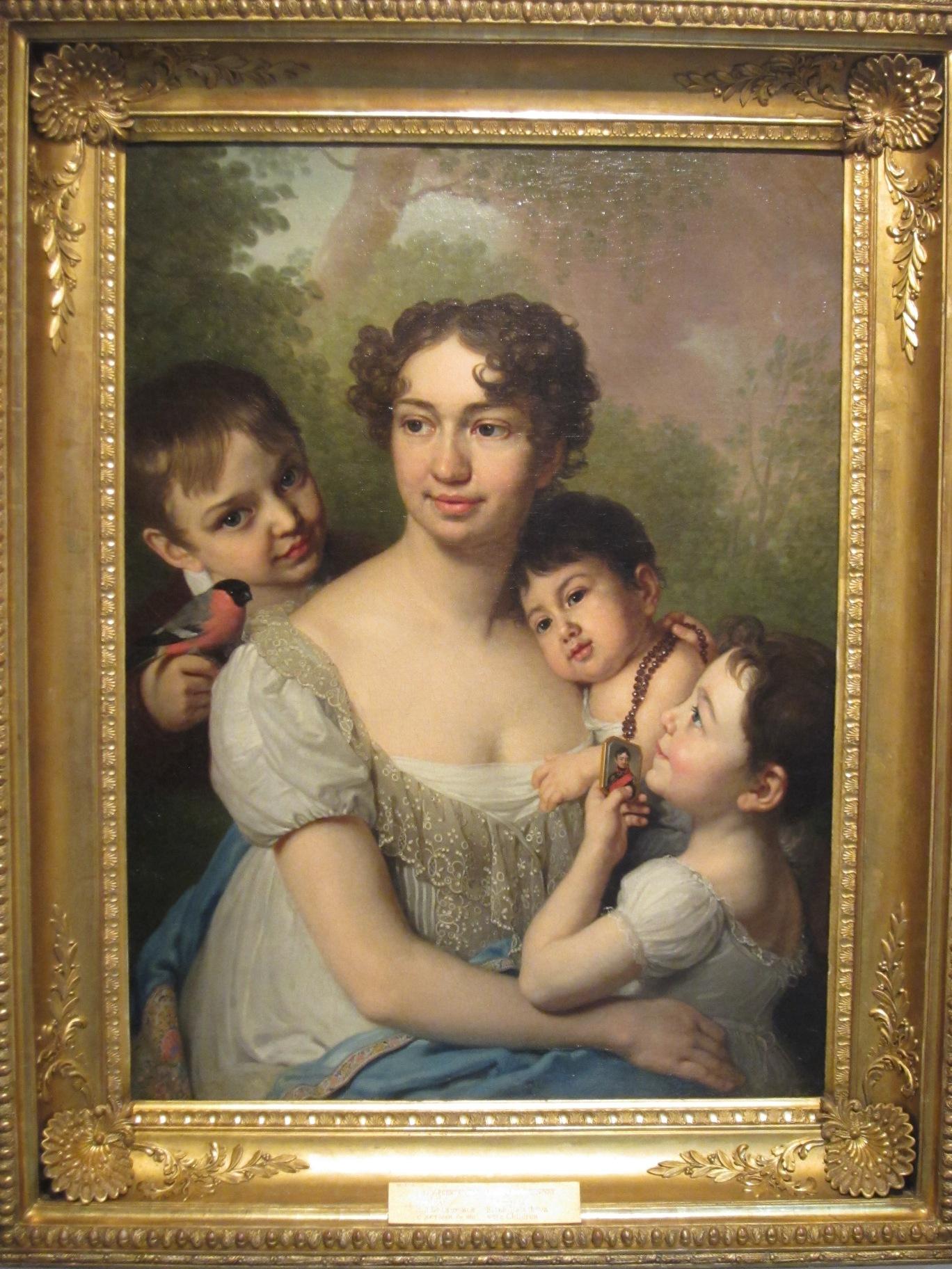 ″Портрет Е.П. Балашовой с детьми″, Боровиковский (07.07.2015)