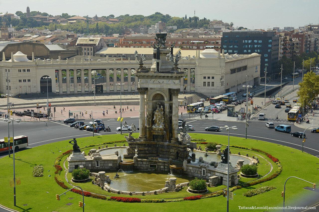 Площадь Испании. Барселона