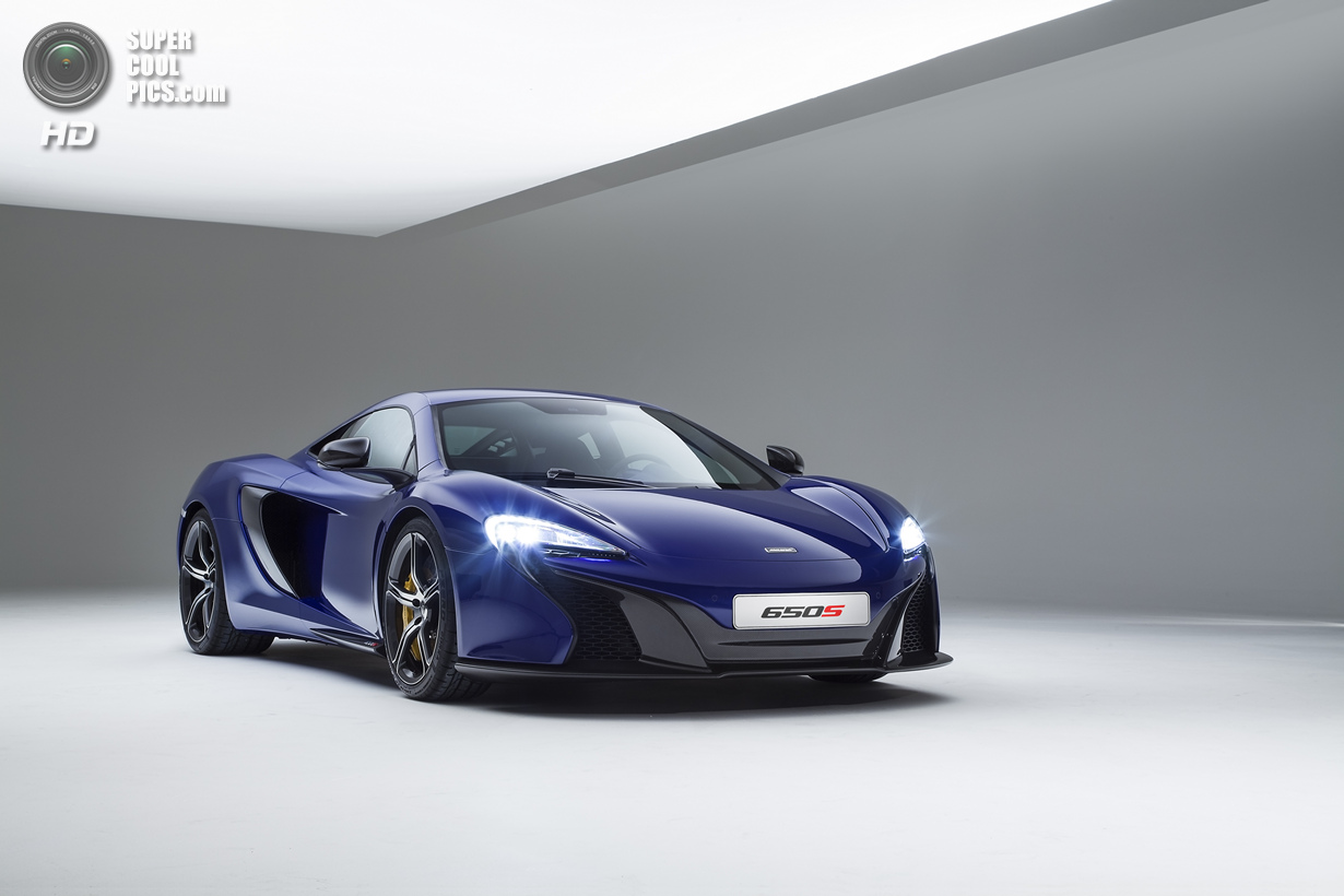 650S — новое купе в линейке McLaren (8 фото)