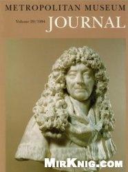 Журнал The Metropolitan Museum Journal, v. 29/1994