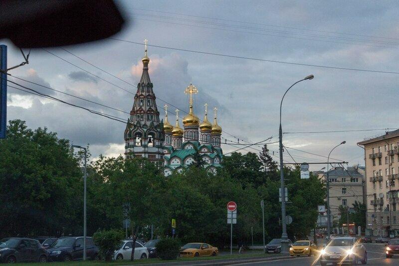 Храм св. Николая Чудотворца в Хамовниках, Москва