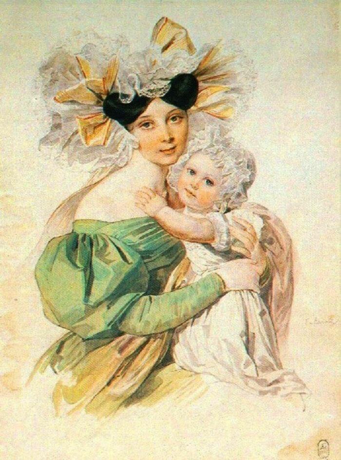 Картинки женщина мать в литературе, открыток день рождения