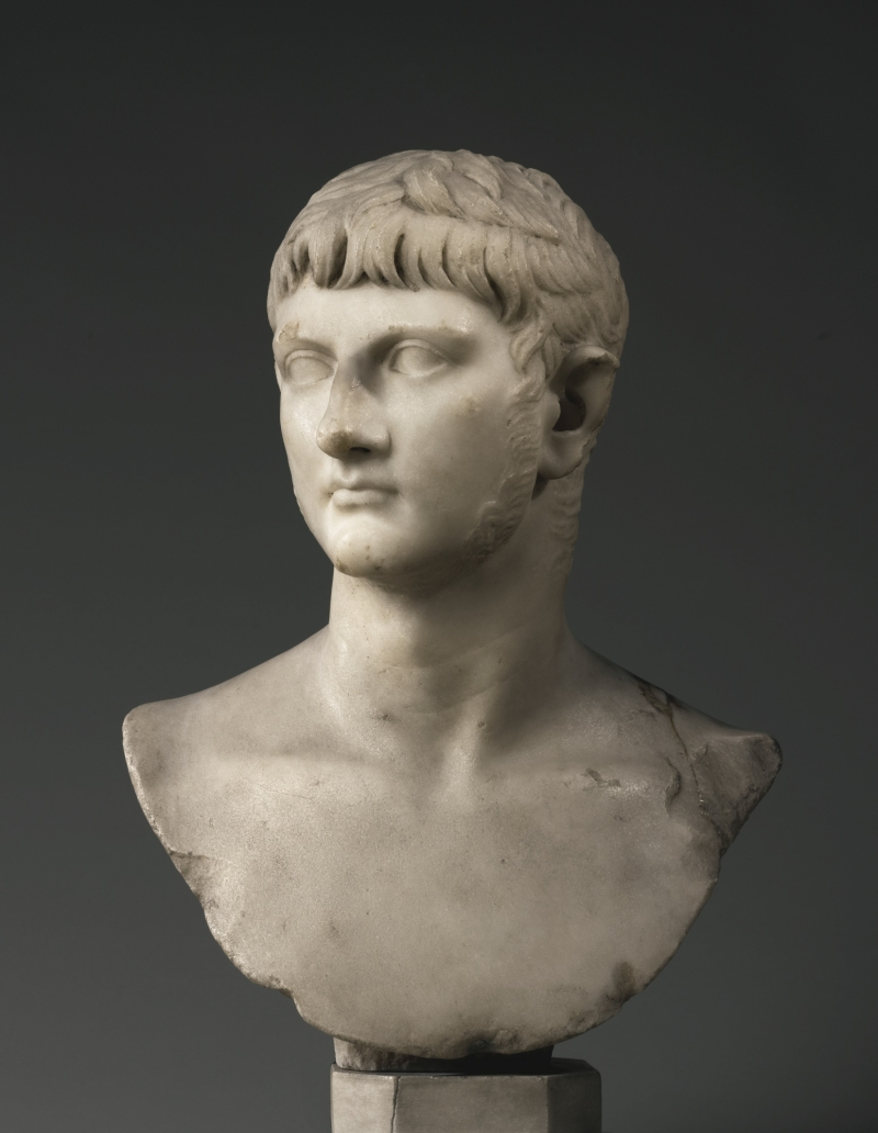 A Marble Portrait Bust of Germanicus, Roman Imperial, Julio-Claudian, probably reign of Caligula or slightly later, circa A.D.37-45, | lot | Sotheby's