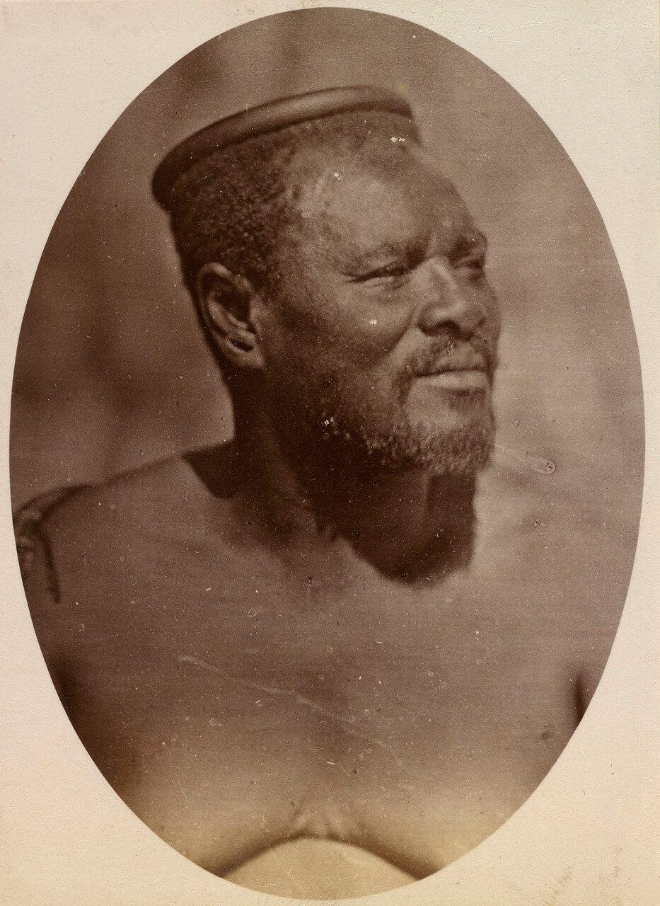 Кечвайо. Сентябрь 1879.   В 1875 году сэр Г. Уолсли, временно исполнявший обязанности лейтенанта-губернатора Натала, пришёл к заключению, что все трудности в отношениях с африканцами могли быть решены аннексией Зулуленда