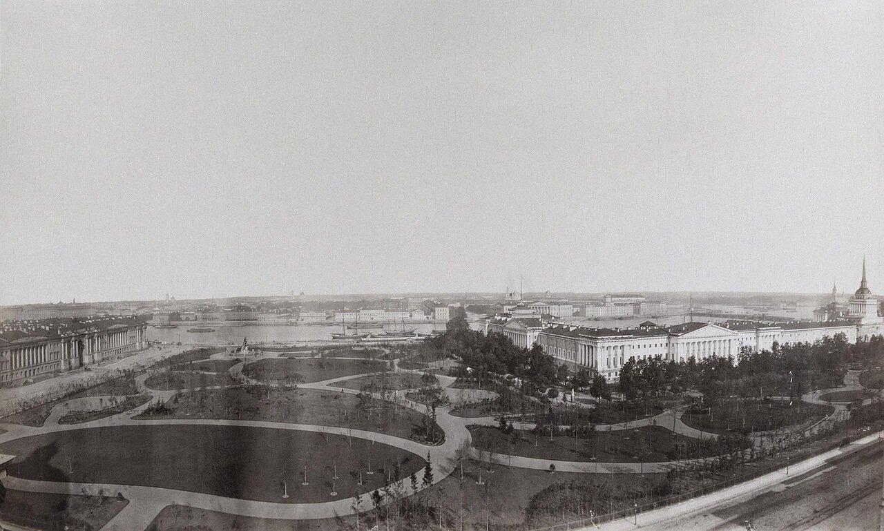 Вид Сенатской площади и Александровского сада