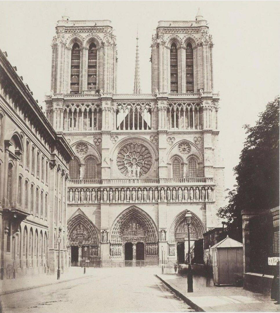 1880. Нотр-Дам де Пари