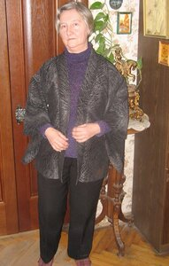 моя мама в кимоно-хаори
