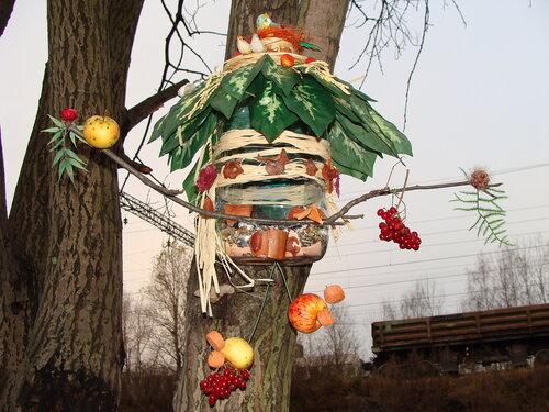 Кормушки для птиц из пластиковых
