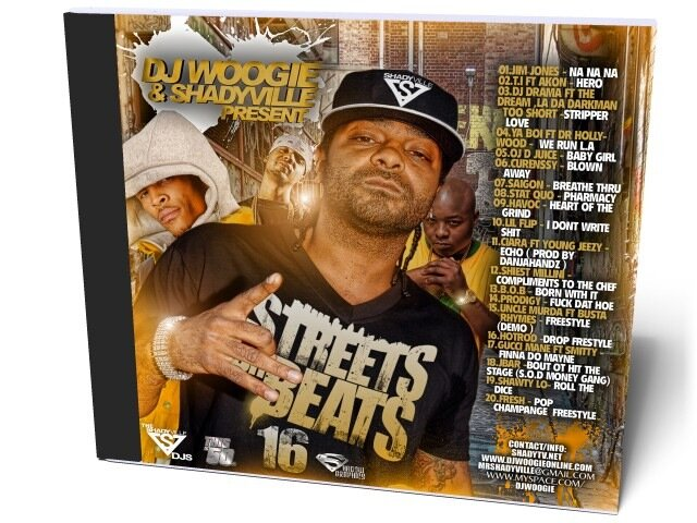 DJ Woogie - Streets On Beats 16 (2009)