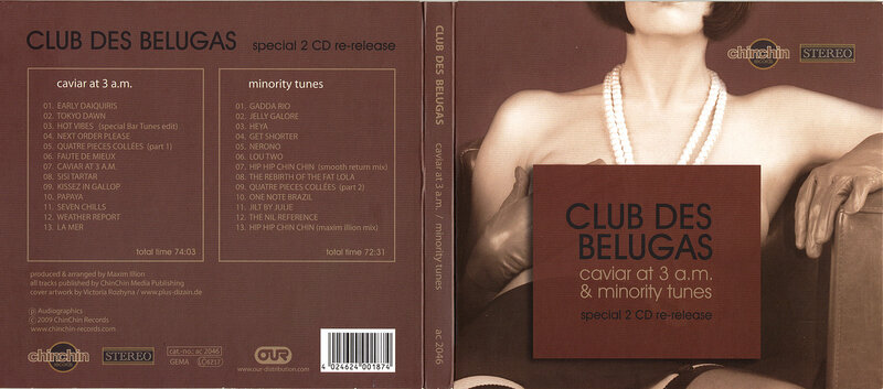 Club Des Belugas: Caviar At 3 A.m. - Minority Tunes (Re-Release) (2CD) 2009