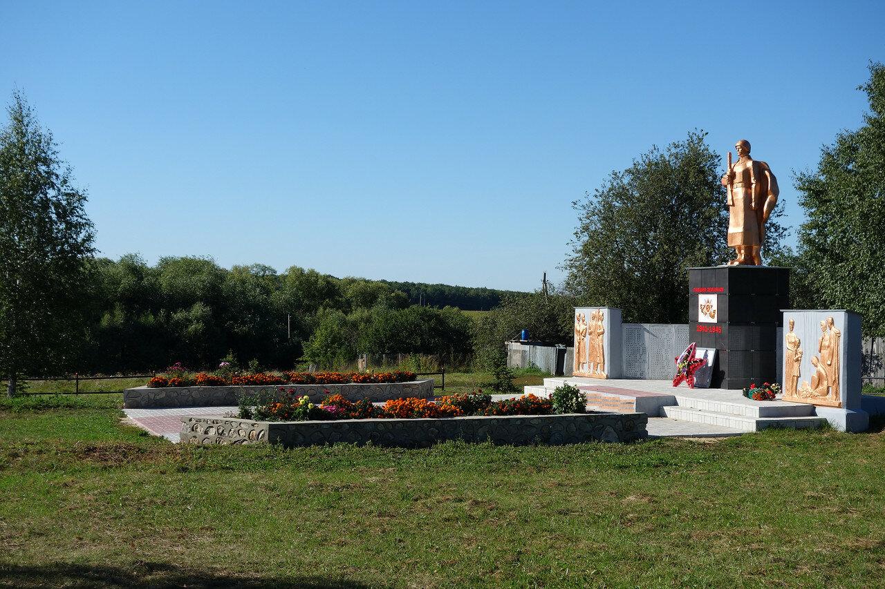 ВОВ в селе Голдино