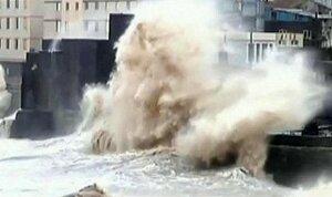 Мощный тайфун «Чан-хом» обрушился на побережье Китая