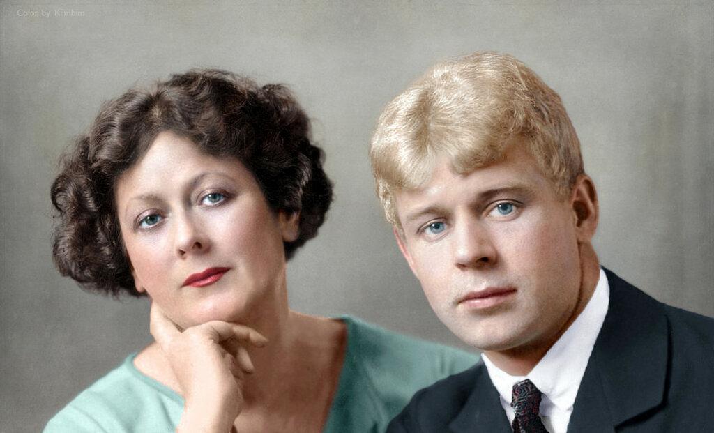 Isadora Duncan and Sergey Yesenin