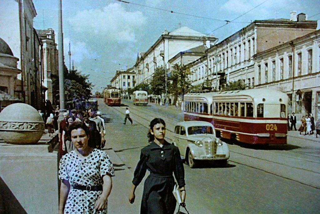 1955c Орёл ул Ленина трамваи ходили 1898-1973.jpg