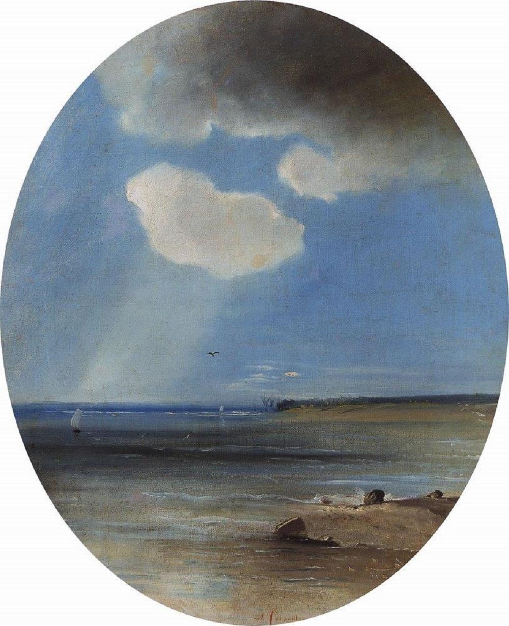 Морской пейзаж, 1880-1890-е.jpg