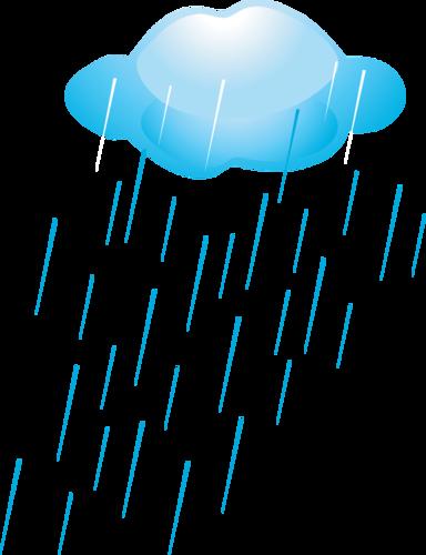 тучка с дождиком