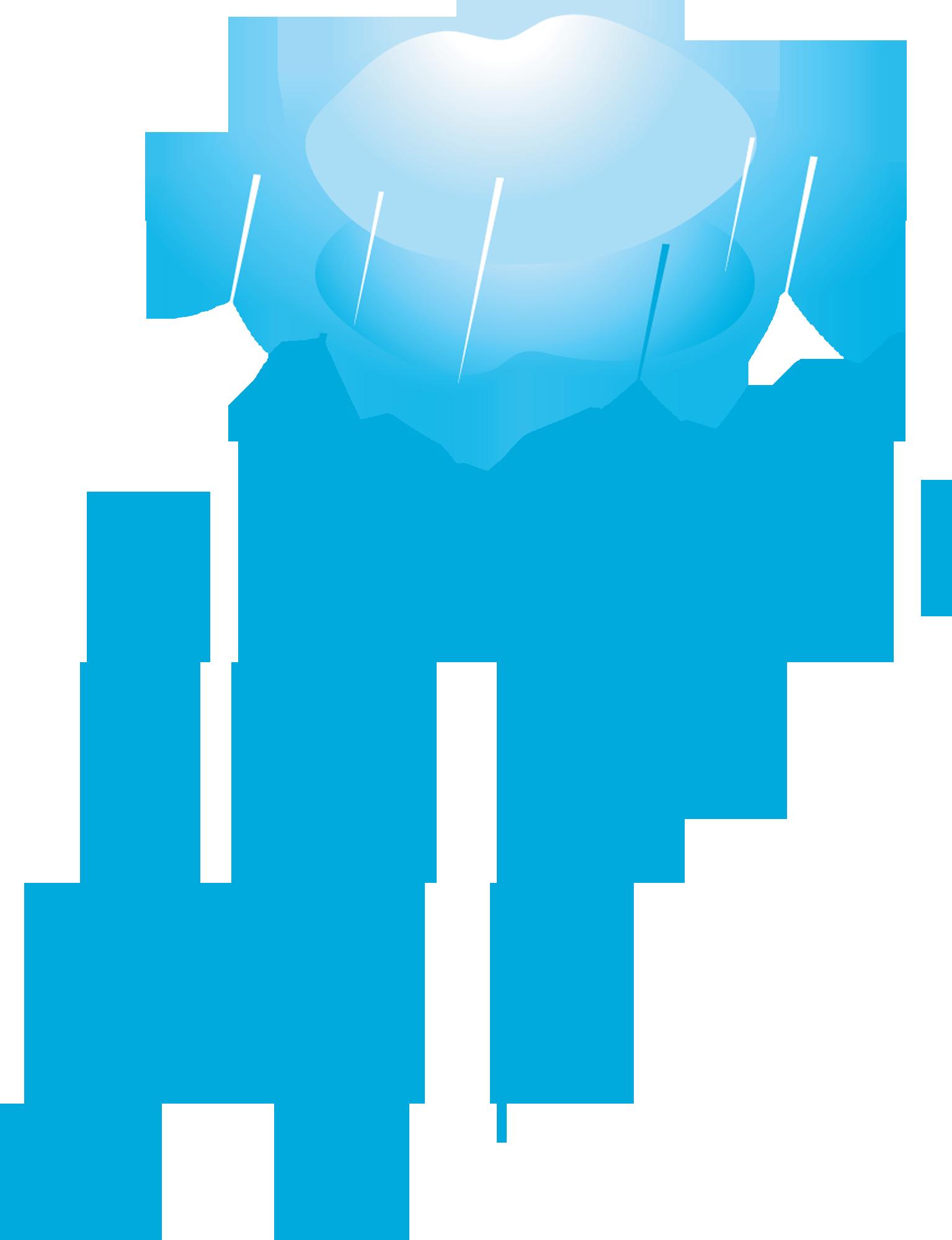 картинка дождик из тучки