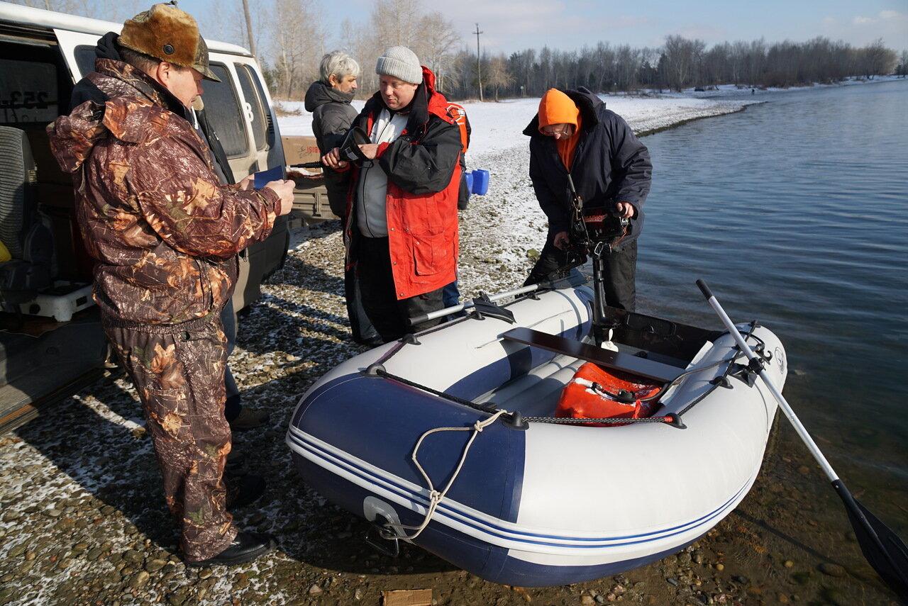 открытие сезон рыбалки на лодках