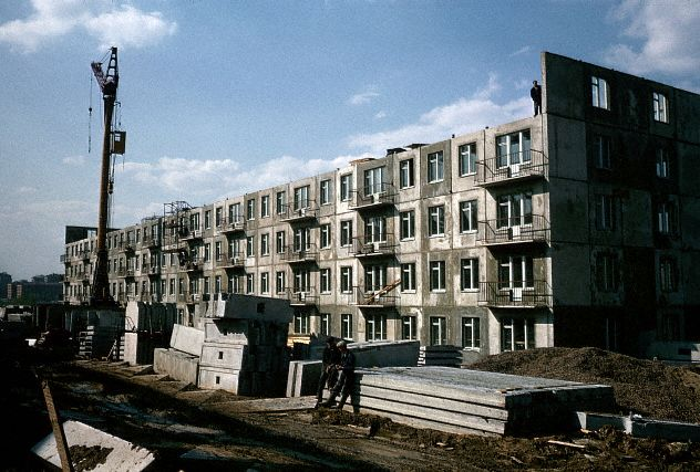 Apartment Construction, Russia