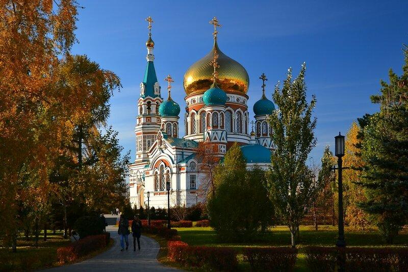 Успенский кафедральный собор. Омск