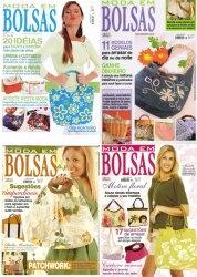 Журнал Moda em bolsas. 7 выпусков