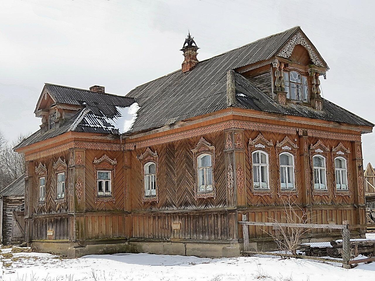 Фотографии домов из кирпича и их проекты запрещено