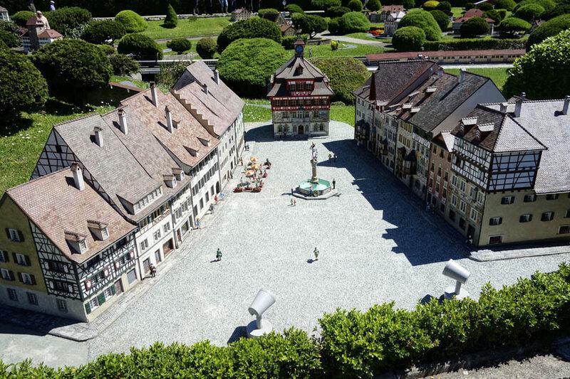 швейцария городок мелиде фотографии города поколением открывает