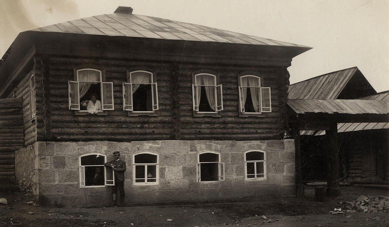 Фрагмент улицы Мало- Качинской и дом. 1910