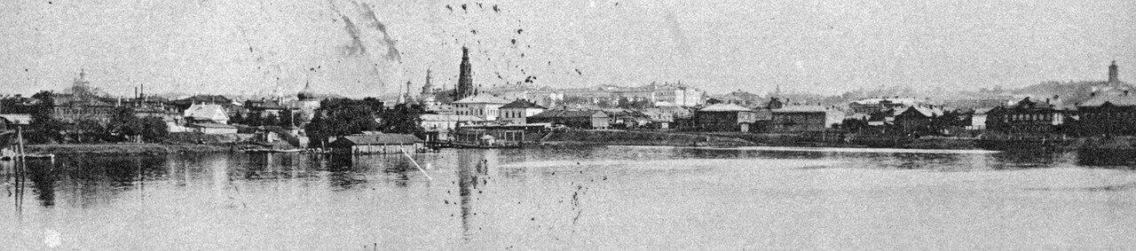 Панорама города. 1911
