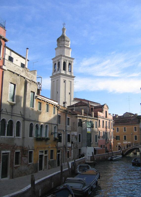 Колокольня церкви Сан-Джованни-дель-Темпио