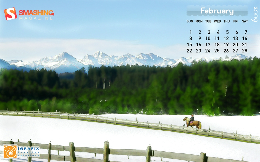Smashing Wallpaper - february 09