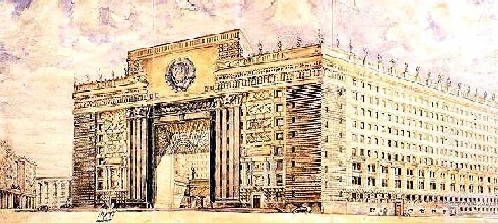 Москва невоплощенная. Смелые архитектурные проекты 30 - 50-х годов.