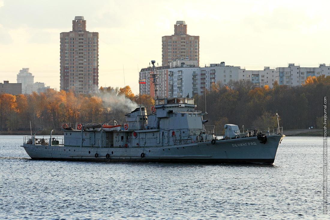 «Ленинград». Проект 122бис (большой охотник за подводными лодками). 1950 года постройки