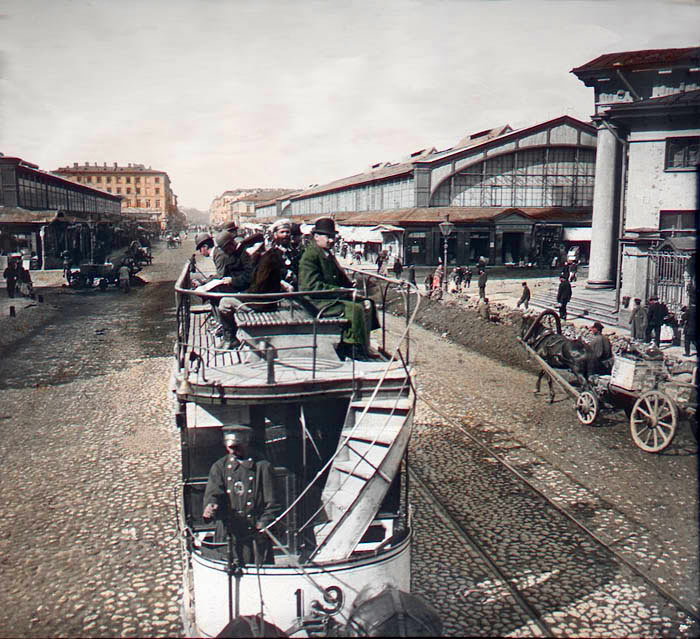 Sennaya Square, St. Petersburg, 1896. Photo by František Krátký.jpg