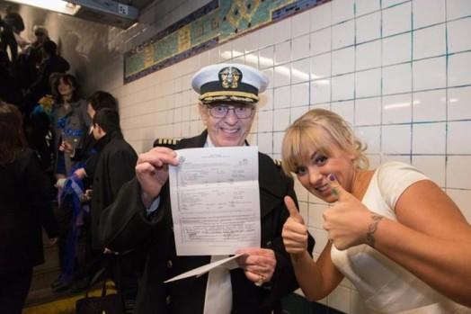 Свадьба в метро Нью Йорка 0 11e5f9 b48fa5e1 orig