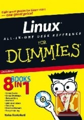 Книга Linux All-in-One Desk Reference For Dummies