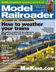 Журнал Model Railroader 2012-04